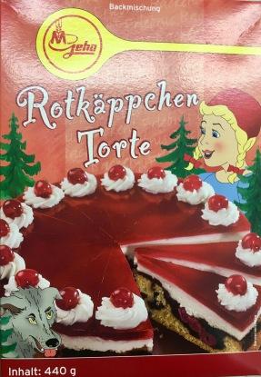 Geha Rotkäppchen Torte Backmischung