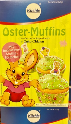 Küchle Oster-Muffins Backmischung