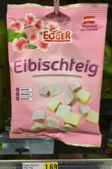 Der Vorläufer des Marshmallows wie wir ihn heute kennen: Eibischteig von Egger (Sportgummi) aus Österreich.