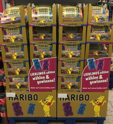 Haribo Godbäre Fanedition Doppelpackung Display Palette