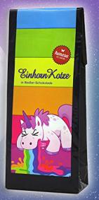 Einhorn Kotze in Weißer Schokolade