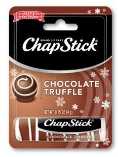 """Langweilig, weil kein """"Brand"""", keine Marke, dahinter steht, aber dennoch wird es hier aufgeführt """"Chocolate Truffle"""" für die Lippen."""