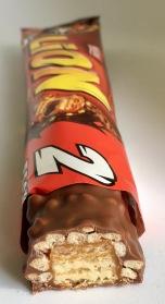 Lion von Nestlé im Anschnitt: Waffeln mit Crisp und Karamell.