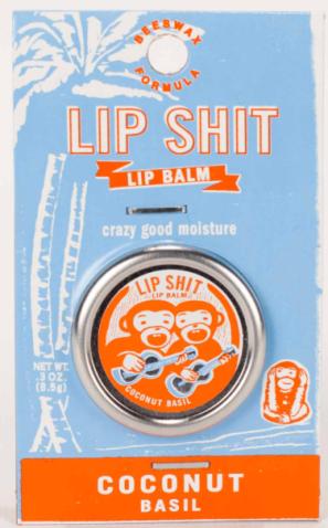 Kein besonders ungewöhnlicher Geschmack, einfach Cocus, aber ein krasser Name: Lip Shit. naja, der Vollständigkeit haöber mal aufgenommen.