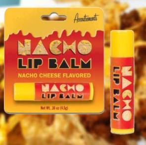 Nacho Lippenpflege - also extrasalziger Käse - wer will noch mal?!