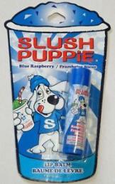 Jetzt geht es los mit den Getränken-Marken, die ihre Lippenstifte mit Geschmack aufpeppen: Wie wäre z. B. Slush Puppie...?!