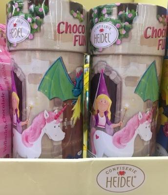 Heidel Schmuckdosen Einhorn Schokolade