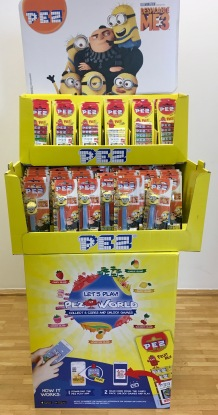 PEZ Display Minions 2017