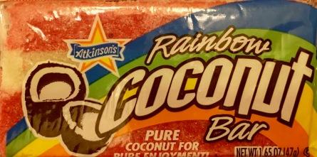 Atkinsons Rainbow Coconut Bar
