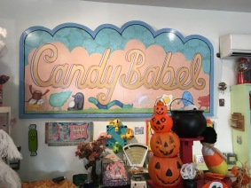 Candy Babel Portland Sign