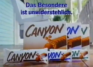Canyon Schokoriegel