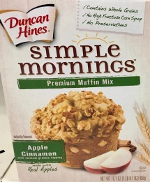 "Muffin Mix von Duncan Hines ""Simple Morning"
