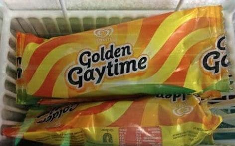 Golden Gaytime Eiscreme Frigo
