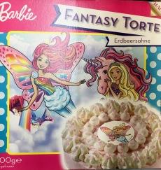 Barbie-Torte FANTASY Einhorn