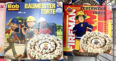 Bob der Baumeister-Torte und Feuerwehrmann-Torte
