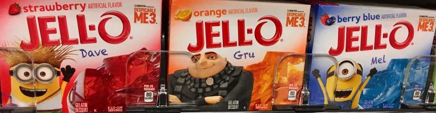 Jell-O Minions