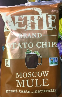 Kettle Patato Chips Moscow Mule