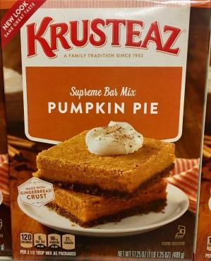 Krusteaz Pumpkin Pie
