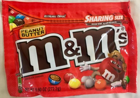 Mars M+M Erdnussbutter