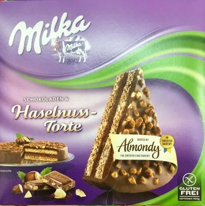 Milka-Haselnusstorte von Almondy