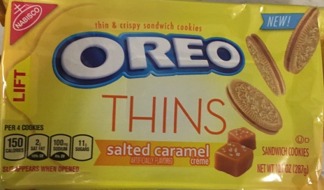 Oreo Blonde Thins Salted Caramel