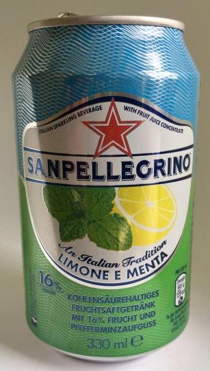 San Pellegrino Limone Menta