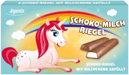 Argenta Schokoladen-Riegel Einhorn
