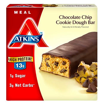 Atkins Chocolate Chip Cookie Dough Bar