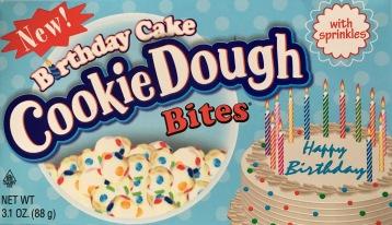 Cookie Dough Bites Birthdaycake