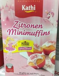 Zitronen Minimuffins mit Glitzer-Streuseln von Picerd.