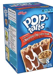 Kellogg's Poptarts Chocolate Chip Cookie Dough