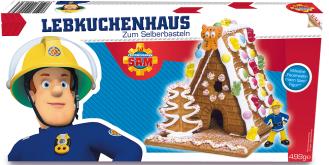 Lebkuchenhaus Feuerwehrmann SAM