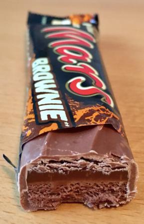 Mars Schokoladenriegel Brownie Edition
