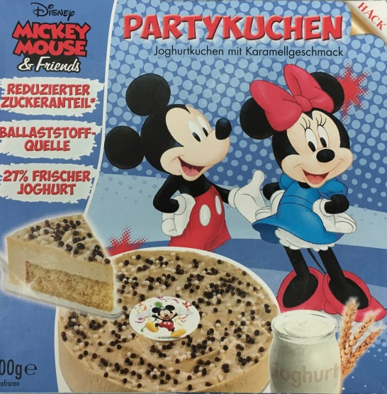 Mickey Mousse Partykuchen Hack