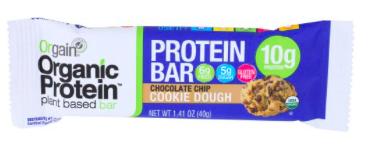 Orgain Organic Protein Bar Chocolate Chip Cookie Doug