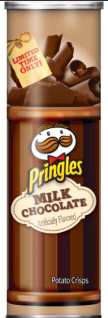 Pringles Milk Chocolate