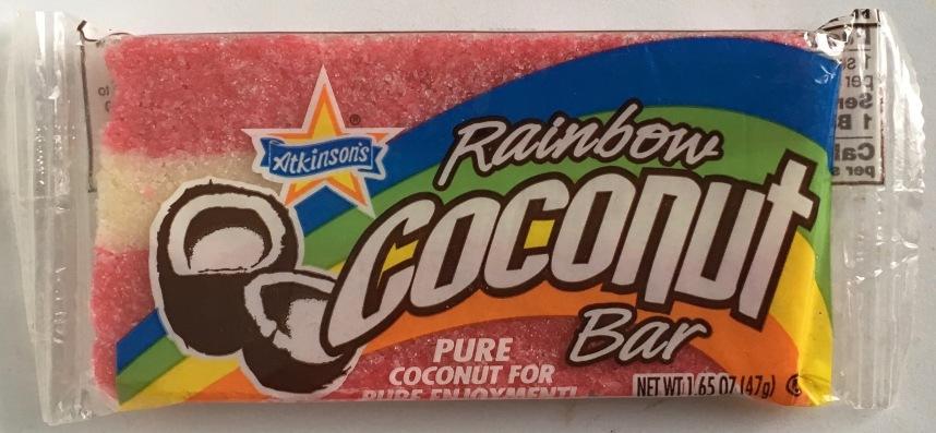 Rainbow Coconut Bar Atkinsons