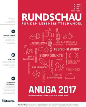 RUNDSCHAU für den Lebensmittelhandel Oktober 2017