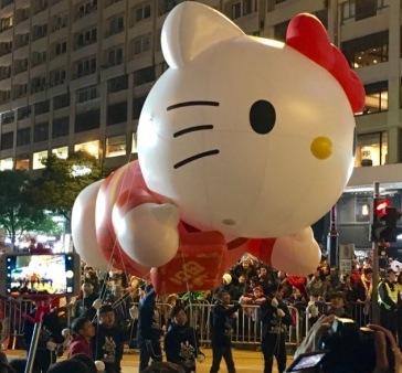 Hog Kong Hello Kitty Float