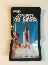 Kennedy Space Center Freeze-Dried Ice Cream