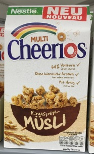 Nestle Multi Cheerios Knusper-Müsli