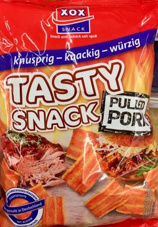 XOX Tasty Snack Pulled Pork