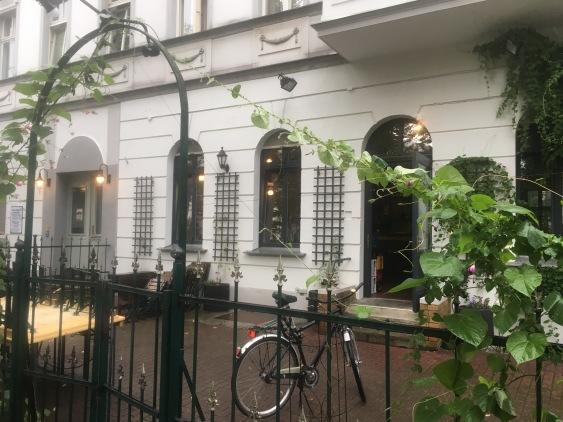 Bar Herr Lindemann Terrasse