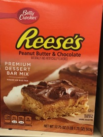 Betty Crocker Reeses Peanut Butter + Chocolate Premium Dessert Bar Mix