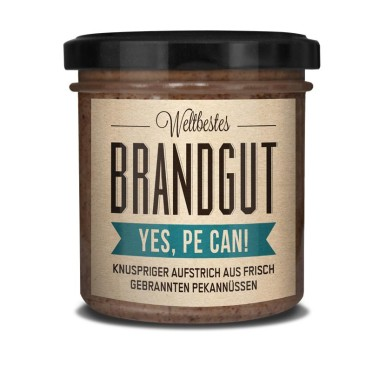 Brandgut Yes we can - Pecan Aufstrich