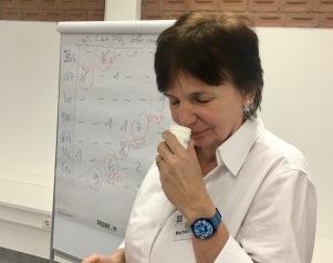 Mechthild Limbach ist in Ihrem Unternehmen für die Qualitätssicherung tätig und muss daher von Berufs wegen gut riechen können.
