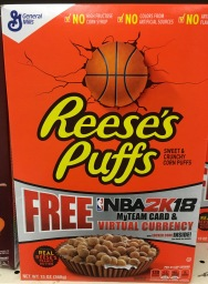 General Mills Reeses Puffs Sweet Crunchy Corn Puffs