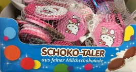 Hello Kitty Schoko-Taler
