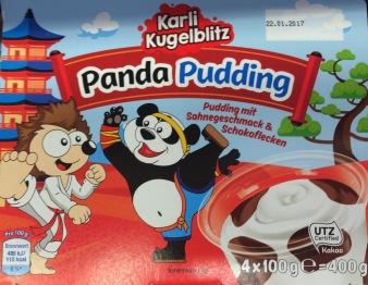 Karl Kugelblitz Panda Pudding