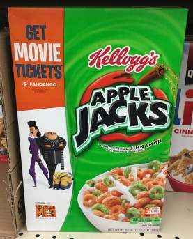 Kelloggs Apple Jacks Minions